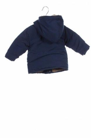 Детско яке La Compagnie des Petits, Размер 9-12m/ 74-80 см, Цвят Син, Полиестер, Цена 42,90лв.