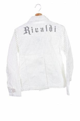 Детско яке Rivaldi, Размер 13-14y/ 164-168 см, Цвят Бял, Памук, Цена 44,25лв.