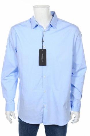 Мъжка риза Selected Homme, Размер XXL, Цвят Син, 98% памук, 2% еластан, Цена 31,60лв.
