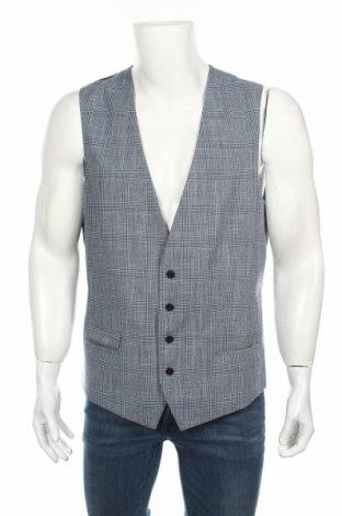 Pánská vesta  Hugo Boss, Rozměr XL, Barva Vícebarevná, 49% vlna, 40% bavlna, 10% len, 1% elastan, Cena  1546,00Kč