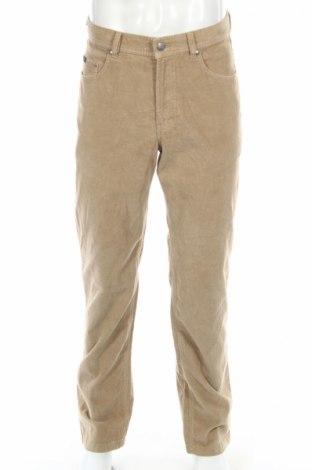 Мъжки панталон Brax Golf, Размер M, Цвят Бежов, 83% памук, 16% полиестер, 1% еластан, Цена 17,20лв.