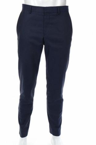 Ανδρικό παντελόνι S.Oliver, Μέγεθος M, Χρώμα Μπλέ, 74% πολυεστέρας, 24% βισκόζη, 2% ελαστάνη, Τιμή 15,52€