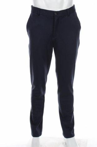 Мъжки панталон Selected Homme, Размер M, Цвят Син, 57% вискоза, 29% полиамид, 14% еластан, Цена 19,80лв.