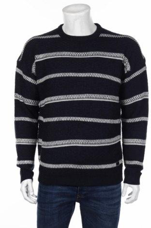 Ανδρικό πουλόβερ Only & Sons, Μέγεθος M, Χρώμα Μπλέ, Ακρυλικό, Τιμή 27,84€