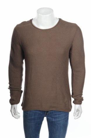 Мъжки пуловер Premium By Jack & Jones, Размер L, Цвят Кафяв, Памук, Цена 15,87лв.
