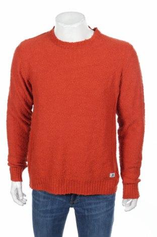 Мъжки пуловер Premium By Jack & Jones, Размер L, Цвят Кафяв, 87% памук, 13% полиамид, Цена 15,87лв.