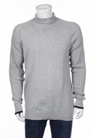 Pánsky sveter  Selected Homme, Veľkosť L, Farba Sivá, 35% vlna, 15% polyamide, 50% polyester, Cena  51,03€