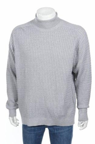Ανδρικό πουλόβερ Selected Homme, Μέγεθος XL, Χρώμα Γκρί, Βαμβάκι, Τιμή 40,72€