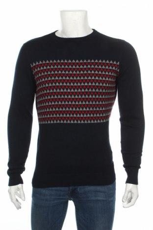Ανδρικό πουλόβερ Springfield, Μέγεθος S, Χρώμα Μπλέ, Βαμβάκι, Τιμή 28,87€