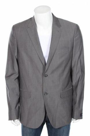 Мъжко сако Cyrillus, Размер XL, Цвят Сив, Вълна, Цена 186,75лв.