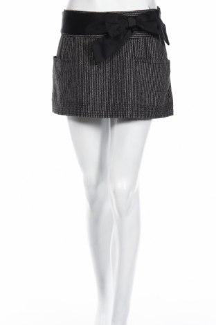 Sukně Zara Trafaluc, Rozměr S, Barva Šedá, 47% polyester, 30% vlna, 20%acryl, 3% jiné tkaniva , Cena  374,00Kč