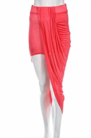Пола Asos, Размер M, Цвят Розов, Вискоза, Цена 18,20лв.