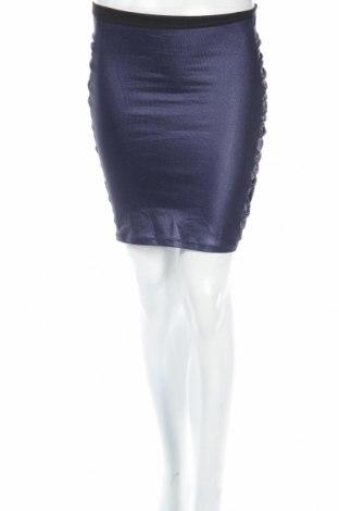 Пола Clockhouse, Размер XS, Цвят Син, 97% памук, 3% еластан, Цена 6,40лв.