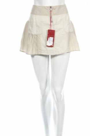 Φούστα Firetrap, Μέγεθος M, Χρώμα  Μπέζ, 60% λινό, 40% βαμβάκι, Τιμή 20,85€