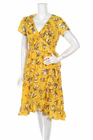 Рокля Pretty Summer, Размер M, Цвят Жълт, 65% полиестер, 35% памук, Цена 31,00лв.