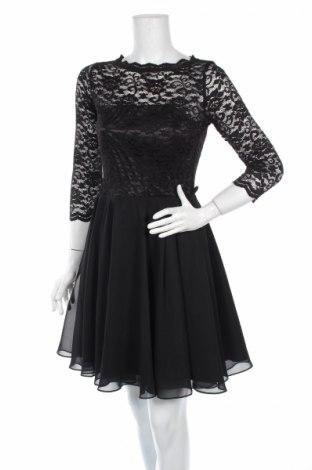 Sukienka Swing, Rozmiar M, Kolor Czarny, Poliester, poliamid, elastyna, Cena 54,27zł