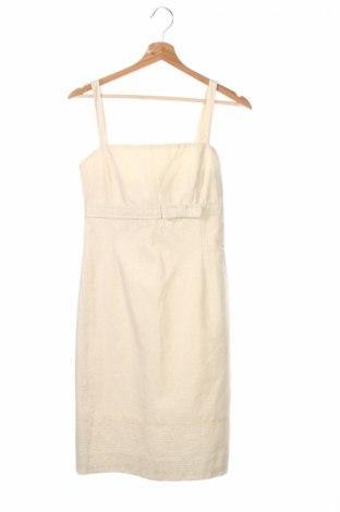 Рокля Un Deux Trois, Размер S, Цвят Екрю, 63% памук, 26% лен, 11% метални нишки, Цена 96,33лв.