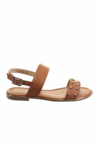 Sandály  C'M, Veľkosť 37, Farba Hnedá, Eko koža , Cena  10,21€