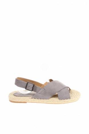 Sandale Coco Perla, Mărime 37, Culoare Gri, Textil, Preț 57,90 Lei