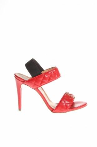 Sandály  Love Moschino, Veľkosť 40, Farba Červená, Eko koža , Cena  76,08€