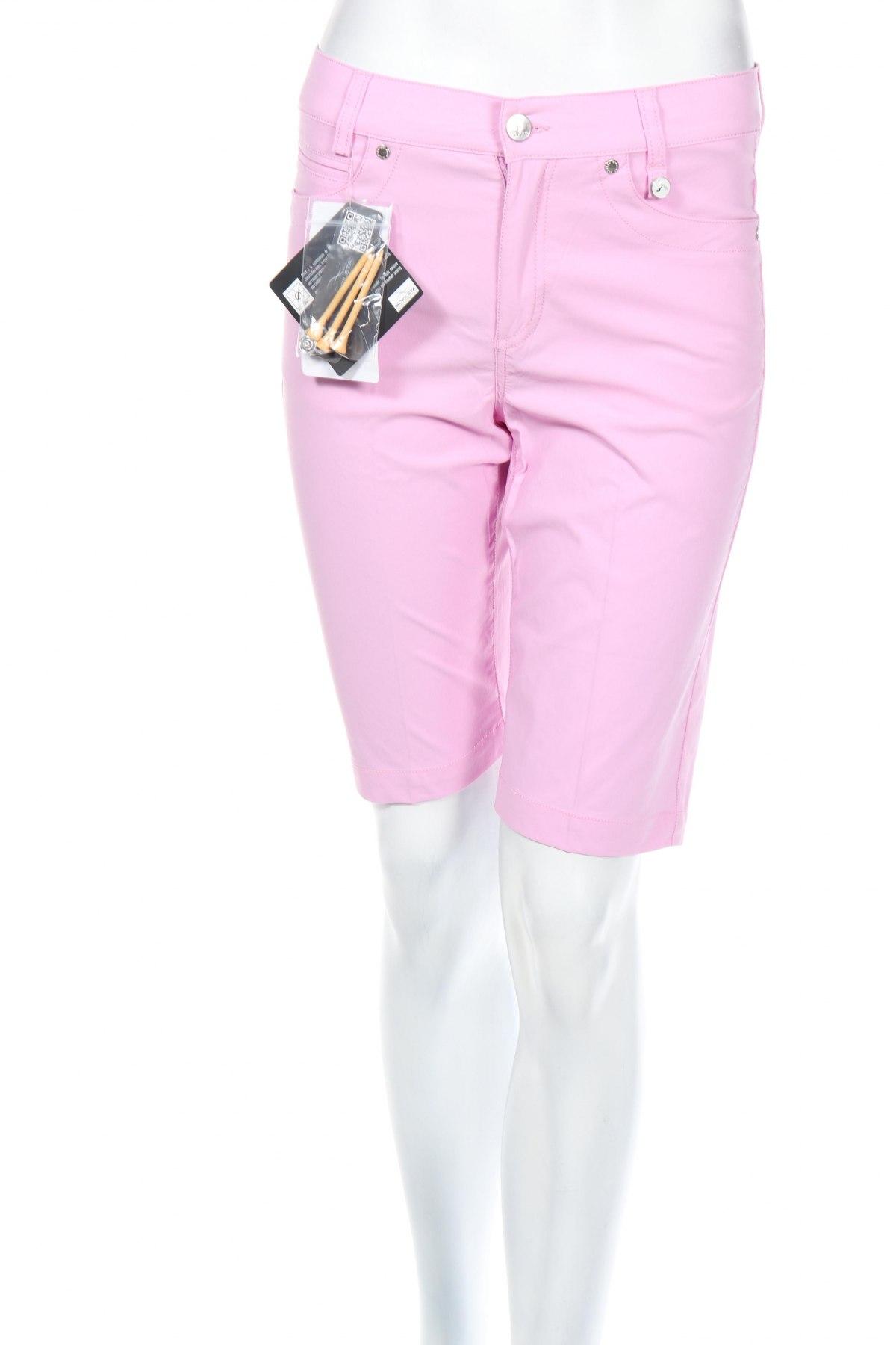 Дамски къс панталон Golfino, Размер M, Цвят Розов, 94% полиамид, 6% еластан, Цена 28,40лв.
