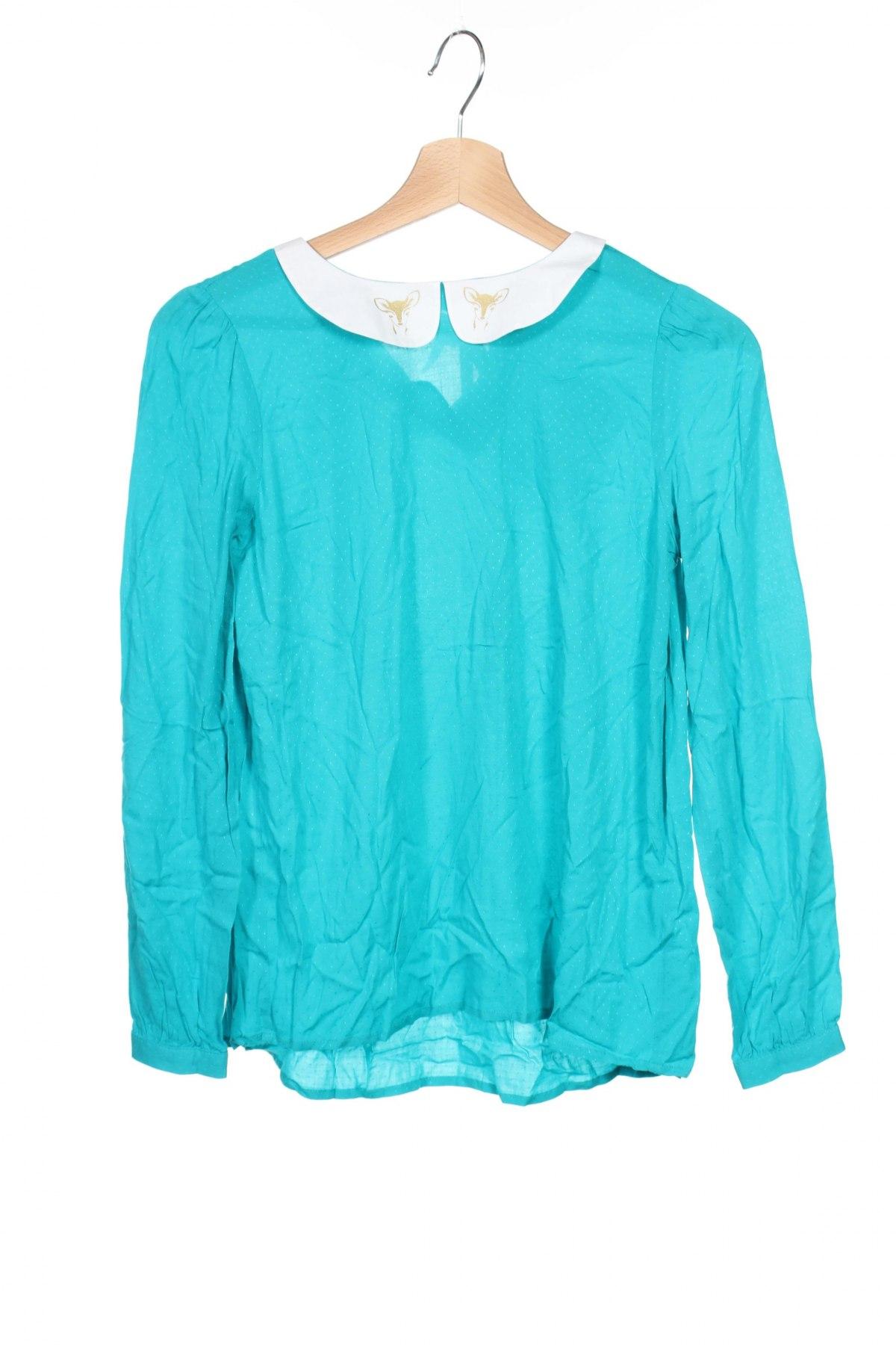 Детска блуза Karl Marc John, Размер 11-12y/ 152-158 см, Цвят Син, 98% вискоза, 2% еластан, Цена 44,25лв.