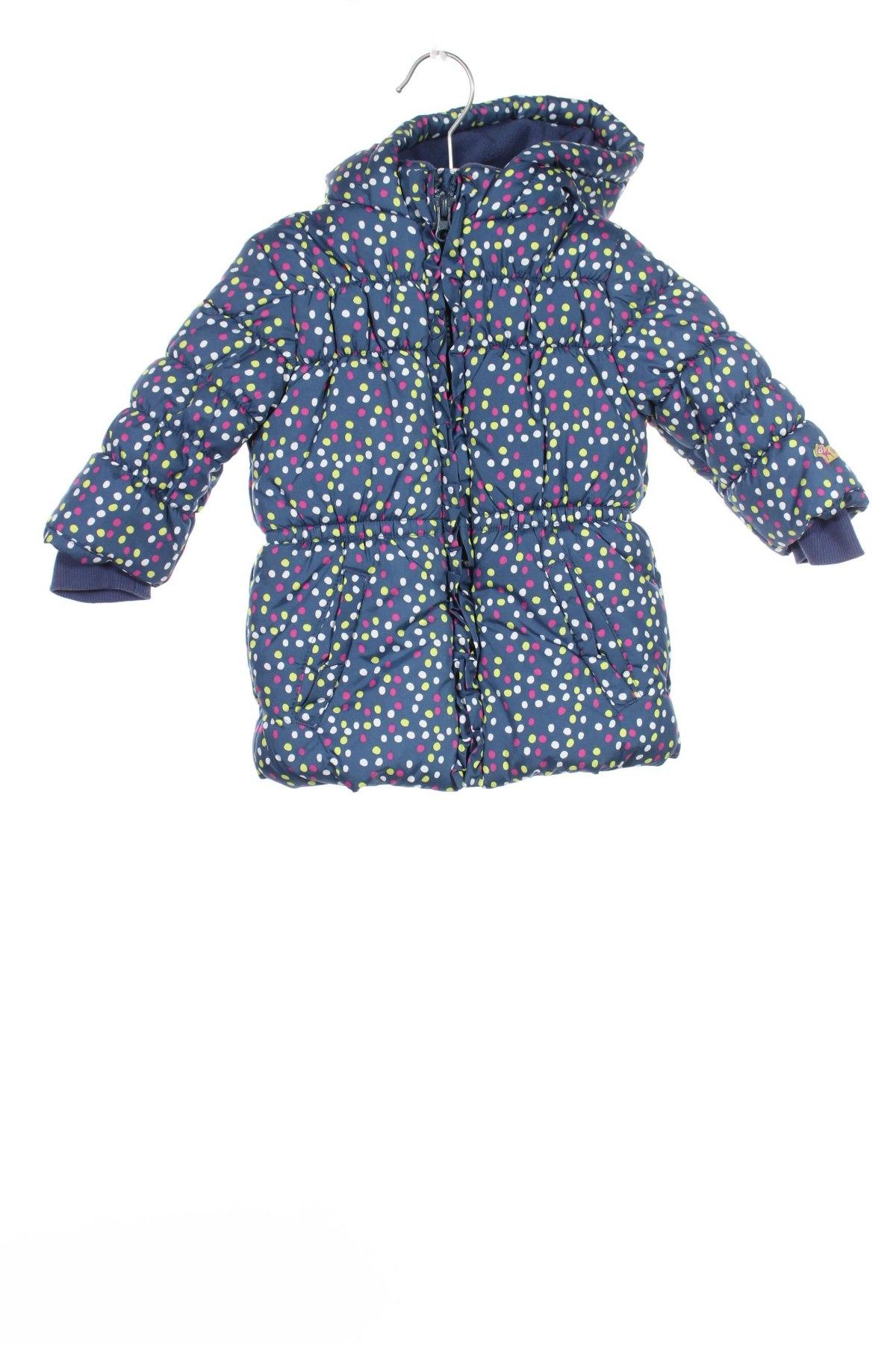 Детско яке La Compagnie des Petits, Размер 3-6m/ 62-68 см, Цвят Син, Полиестер, Цена 52,80лв.