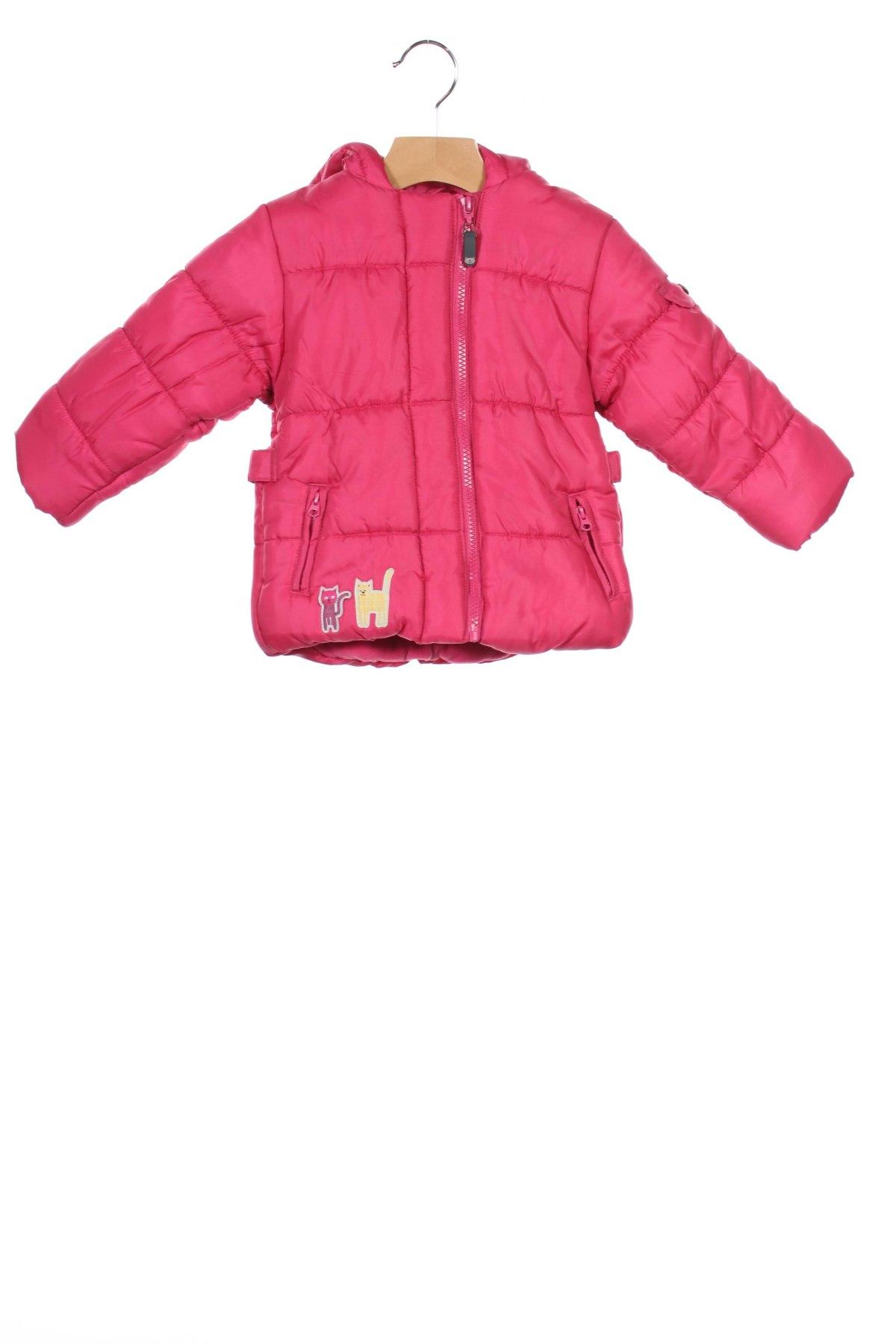 Детско яке La Compagnie des Petits, Размер 18-24m/ 86-98 см, Цвят Розов, Полиестер, Цена 57,96лв.