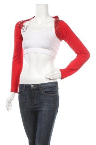 Болеро, Размер S, Цвят Червен, 65% памук, 35% полиестер, Цена 4,57лв.