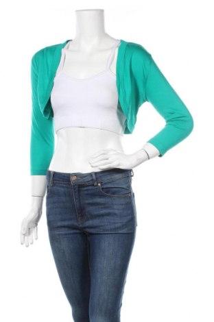 Болеро Flame, Размер S, Цвят Зелен, 50% памук, 50% модал, Цена 13,44лв.