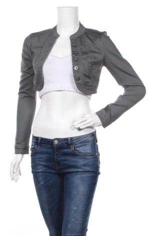 Болеро Vero Moda, Размер XS, Цвят Сив, 70% памук, 29% полиестер, 1% еластан, Цена 7,56лв.