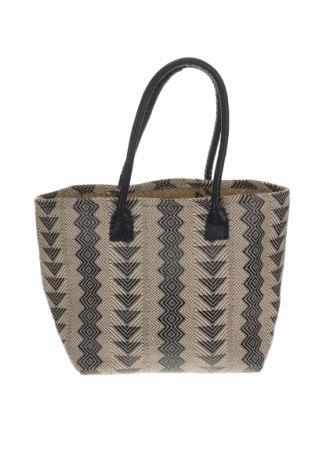 Γυναικεία τσάντα, Χρώμα  Μπέζ, Κλωστοϋφαντουργικά προϊόντα, Τιμή 17,42€