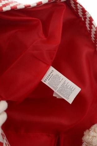 Чанта Reserved, Цвят Червен, Други тъкани, Цена 36,75лв.