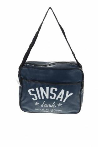 Чанта Sinsay, Цвят Син, Еко кожа, Цена 29,50лв.