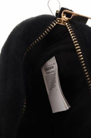 Чанта за кръст Cropp, Цвят Черен, Текстил, еко кожа, Цена 20,88лв.
