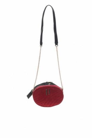 Чанта за кръст Cropp, Цвят Червен, Текстил, еко кожа, Цена 18,00лв.