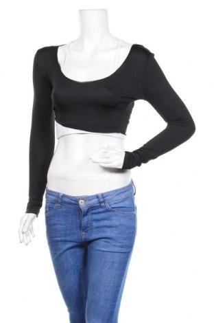 Дамска блуза Top Fashion, Размер S, Цвят Черен, Цена 25,50лв.