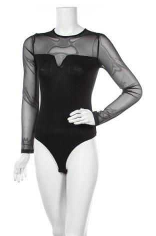 Дамска блуза - боди Even&Odd, Размер S, Цвят Черен, 95% вискоза, 5% еластан, Цена 31,50лв.