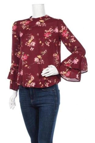 Дамска блуза Bershka, Размер S, Цвят Червен, Полиестер, Цена 10,80лв.