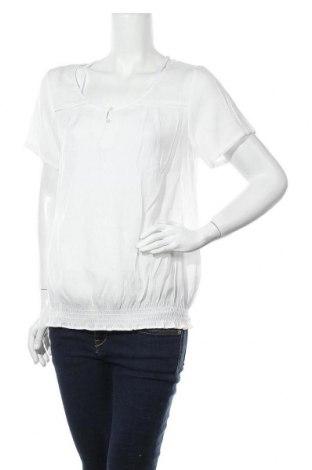 Дамска блуза Carla F., Размер XL, Цвят Бял, 65% полиестер, 35% вискоза, Цена 12,29лв.