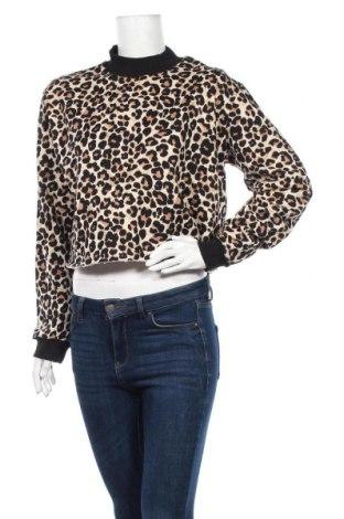 Дамска блуза Cropp, Размер S, Цвят Многоцветен, 85% памук, 15% полиестер, Цена 10,20лв.