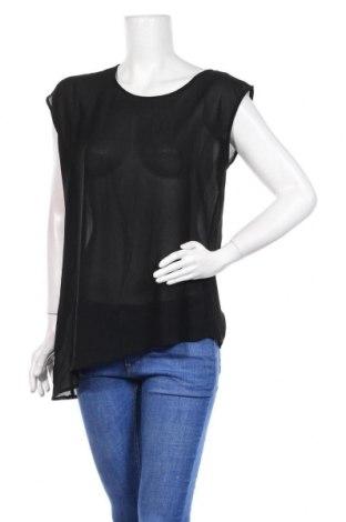 Дамска блуза Dex, Размер M, Цвят Черен, Полиестер, Цена 4,46лв.