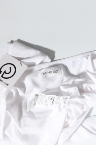 Дамска блуза Even&Odd, Размер M, Цвят Бял, 95% памук, 5% еластан, Цена 9,00лв.