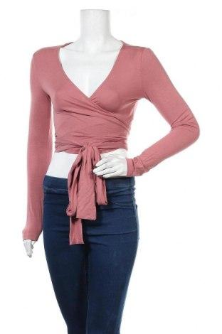Дамска блуза Even&Odd, Размер S, Цвят Розов, 95% вискоза, 5% еластан, Цена 19,00лв.