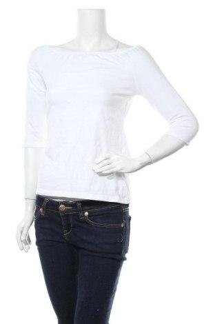 Дамска блуза Even&Odd, Размер L, Цвят Бял, 95% памук, 5% еластан, Цена 18,00лв.