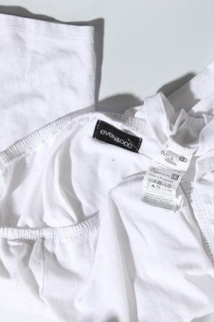 Дамска блуза Even&Odd, Размер L, Цвят Бял, 95% памук, 5% еластан, Цена 27,00лв.