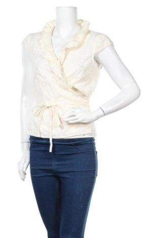 Дамска блуза Fransa, Размер L, Цвят Екрю, 55% полиестер, 45% памук, Цена 17,01лв.