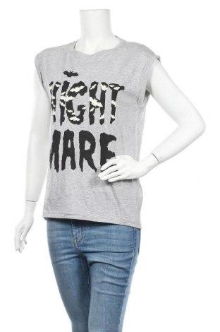 Γυναικεία μπλούζα House, Μέγεθος S, Χρώμα Γκρί, 95% βαμβάκι, 5% ελαστάνη, Τιμή 7,42€