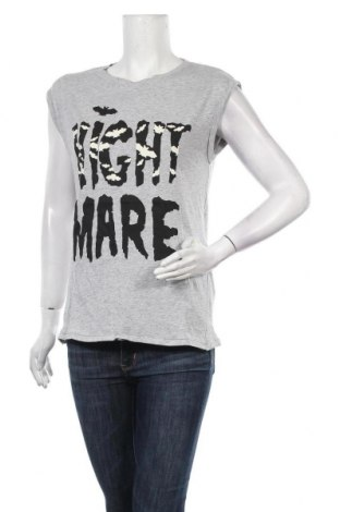 Γυναικεία μπλούζα House, Μέγεθος S, Χρώμα Γκρί, 95% βαμβάκι, 5% ελαστάνη, Τιμή 8,04€