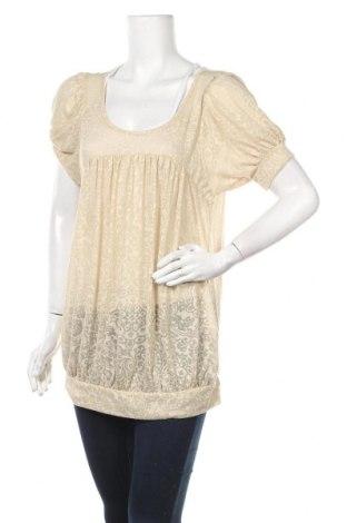 Γυναικεία μπλούζα Miss Selfridge, Μέγεθος XL, Χρώμα  Μπέζ, 70% πολυεστέρας, 30% βισκόζη, Τιμή 15,42€